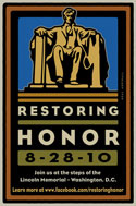 The road to the Restoring Honor Rally