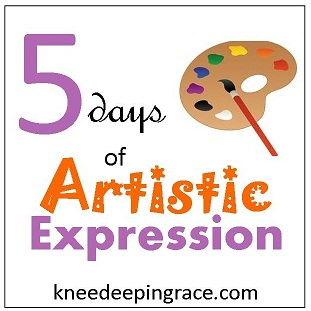 5 Days of Artistic Expression 001